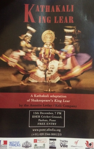 Kathkali King Lear Playbook