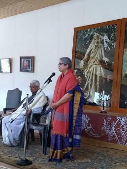Prof V N Jha and Prof Ujjwala Jha, Photo Courtesy: Prof Jha